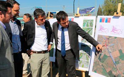 Intendente anuncia que este año se realizará licitación para ejecución de obras de conexión Rancagua-Machalí