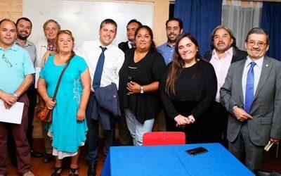 Intendente se reúne con No+tacos Machalí-Rancagua