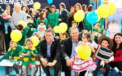 Intendente visita jardín infantil de Mostazal y reafirma compromiso del Gobierno con niños y familias