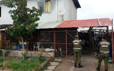 Investigan incendio en el cual resultó una persona detenida