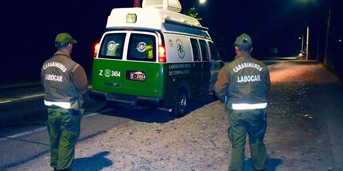 Labocar investiga robo frustrado en la comuna de Coltauco