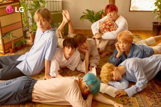 LG anuncia alianza con grupo BTS y colabora para traer lo mejor del K-Pop a Chile