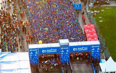 Los mejores corredores de la Región de OHiggins del Maratón de Santiago 2018