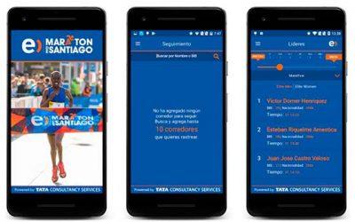 Maratón de Santiago lanza app dirigida a los corredores y a quienes los alientan