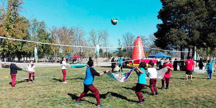 Más de 600 pequeñitos de San Fernando disfrutan del Encuentro Deportivo Formativo desarrollado por el Mindep