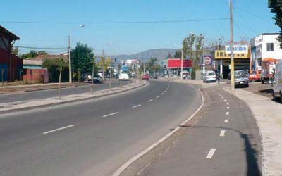 Municipalidad de San Fernando mejora desplazamiento vehicular en avenida Bernardo OHiggins
