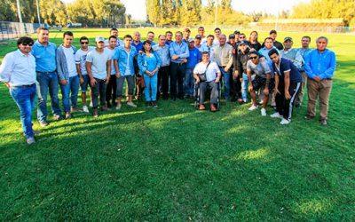 Municipio de Rengo entrega remodelado estadio