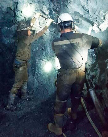 Pequeños productores de Chancón se capacitan en curso Operaciones Mineras