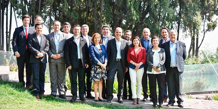 Primer encuentro de Seremis Minvu de todo Chile con ministro y subsecretario