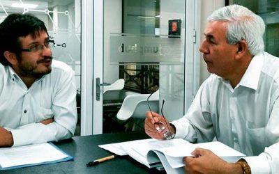 Profesionales de Piensa OHiggins se reúnen con gerente de HortiCrece