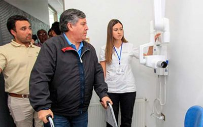 Renovación de sala radiográfica dental en el Cesfam de Rengo