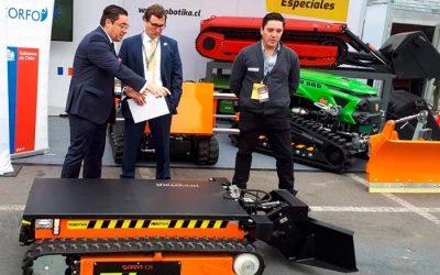 Robot Aspirador con inteligencia artificial creador por Rancaguino se presenta en Expomin 2018