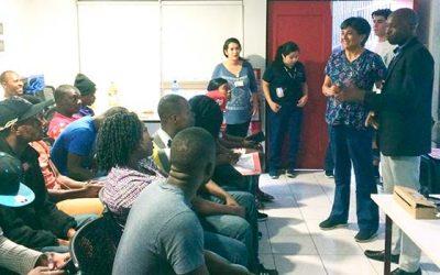 Salud Machalí realiza actividad educativa e inclusiva para haitianos residentes de Santa Teresa