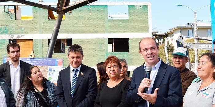 Subsecretario de Vivienda visita Rancagua