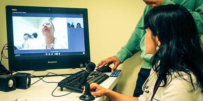 Telemedicina una solución real a pacientes a distancia y además disminuir listas de espera