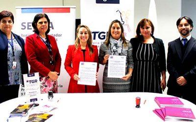 Tesorería regional Rancagua firma acuerdo con el Senda
