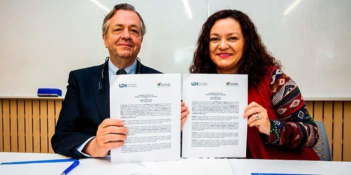 UOH firma acuerdo con Fundación Integra para prácticas en jardines infantiles