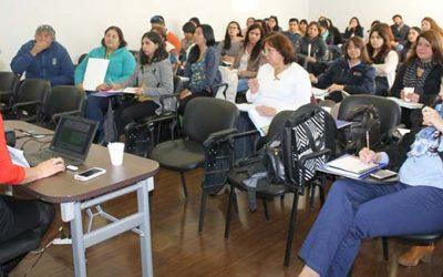 Capacitan a encargados comunales en primera jornada nacional del subsistema Chile crece contigo