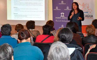 Corte de Apelaciones realiza charla informativa a mujeres habitantes del sector norte de Rancagua