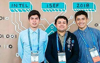 Delegación de estudiantes de Rancagua representó a Chile en mundial de ciencia escolar en EE.UU.