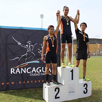 Deportistas compitieron en la tercera versión del Torneo Atlético de Rancagua