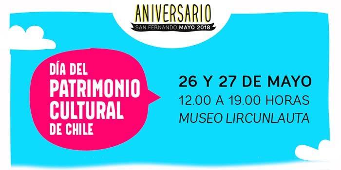 Día del patrimonio cultural 2018 en San Fernando