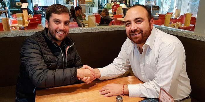 Diputado Raúl Soto respalda candidatura de Fuad Chahin a la presidencia de la DC