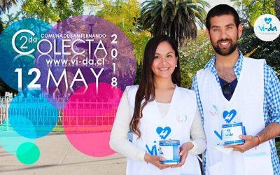 Fundación Vi-Da realizará segunda colecta anual en la comuna de San Fernando