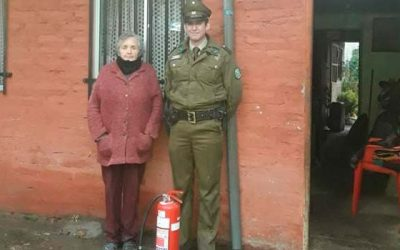 Heroico actuar policial en Marchigüe