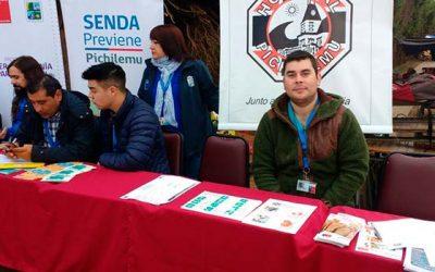 Hospital de Pichilemu presente en Plaza ciudadana de Cardenal Caro