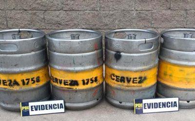 Intentaban vender barriles robados en fiesta de la cerveza de Machalí