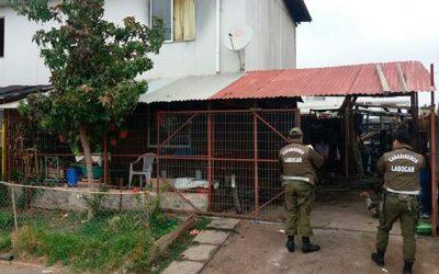 Labocar investiga inusual incendio en la comuna de Rancagua