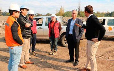 MOP construye y repara defensas fluviales del Río Tinguiririca entregando seguridad a vecinos del sector