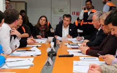 Onemi OHiggins puso a prueba a integrantes del Comité Regional de Operaciones de Emergencia