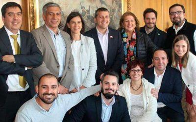 Presidente nacional de Evopoli visita Rancagua