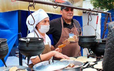 Productores regionales se lucen en Feria Gastronómica Patrimonial