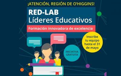 Redlab: Instancia formativa de excelencia para equipos de liderazgo escolar en la Región de O'Higgins