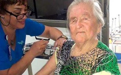 Salud Machalí hace llamado a vacunarse contra la Influenza en esta época otoñal