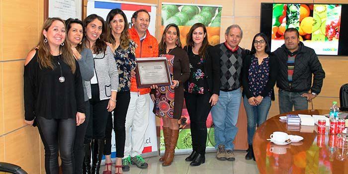 Senda certifica en prevención de drogas a empresa agroindustrial de Olivar