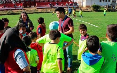Senda Previene interviene en talleres deportivos del municipio de Pichilemu