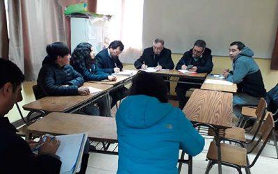 Senda Previene Pichilemu participa en consejos escolares en nuevos establecimientos educacionales