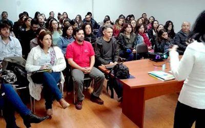 Senda y el Sename capacitan a profesionales de tratamiento de drogas de la Región