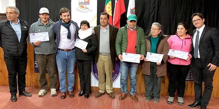 Seremi de Agricultura entrega incentivos por más de 25 millones de pesos