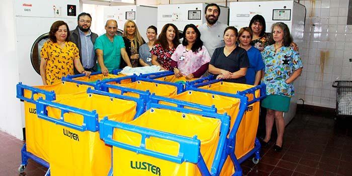 Servicio de Lavandería del Hospital de San Fernando