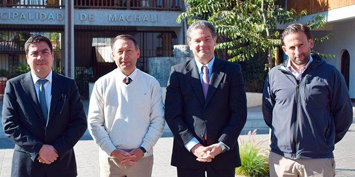 SMA firma convenio de colaboración con el municipio de Machalí