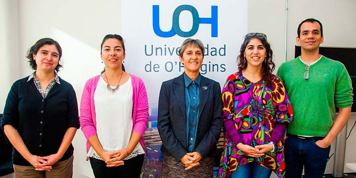 Universidad de OHiggins recibe a representante de la Western Sydney University de Australia