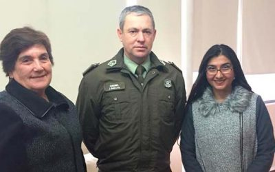 Alcaldesa de Olivar plantea necesidades en materia de seguridad a Carabineros