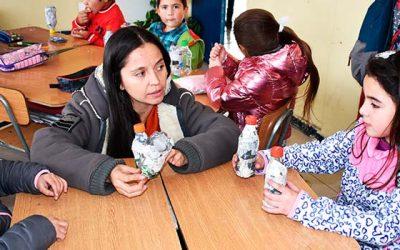 Alumnos de la escuela Sergio Verdugo Herrera de San Fernando potencian habilidades musicales