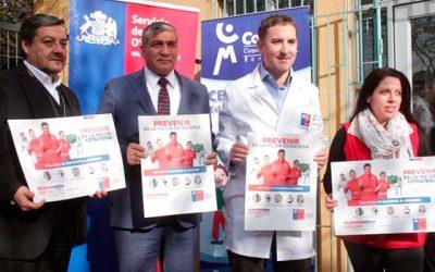 Autoridades de Salud lanzan oficialmente campaña de invierno 2018