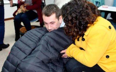Capacitan a funcionarios de Integra en primeros auxilio sicológicos